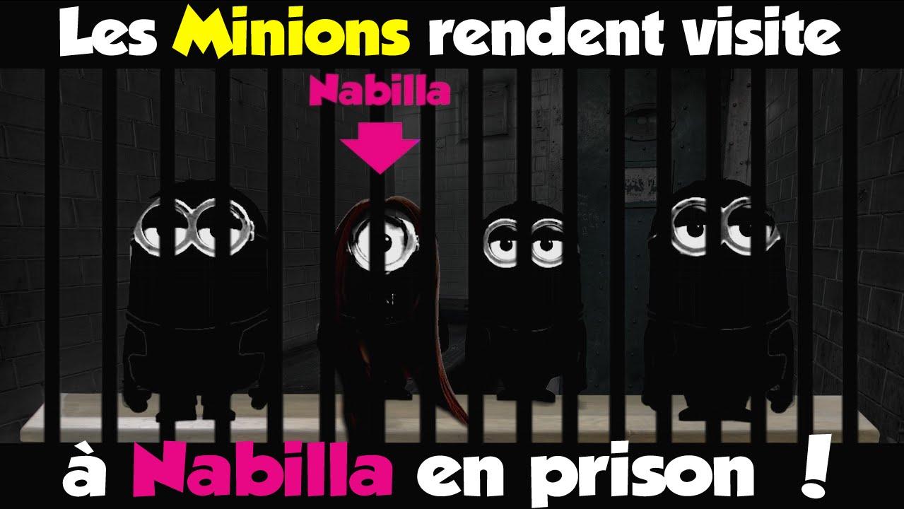 les minions rendent visite a nabilla en prison youtube. Black Bedroom Furniture Sets. Home Design Ideas
