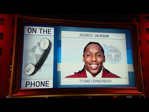Titans CB Adoree Jackson on Getting Drafted & More - 5/3/17