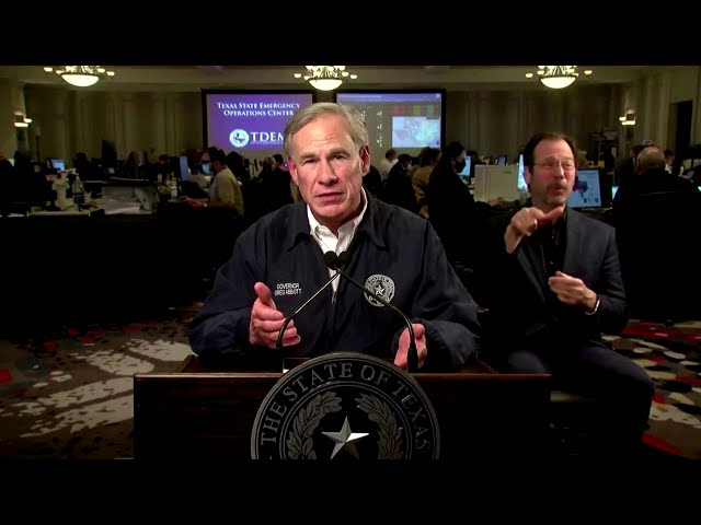 Texas governor vows to fix state's electric grid