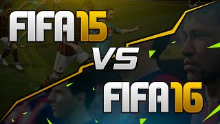 FIFA 16 vs FIFA 15 - Gameplay Review / New Features / Differences / In-Game Examples