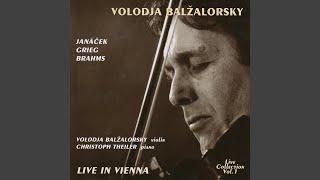 Sonata in D minor Op.108: Un poco presto e con sentimento (Live)