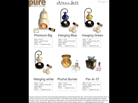 How To Use Aroma Burner