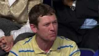Man Walks Out Of Question Time Studio Over Immigration Row - BBCQT Barking  06/03/2014