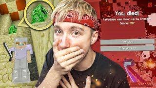 ENGSTE AVONTUUR TOT NU TOE!! - Minecraft Survival #4