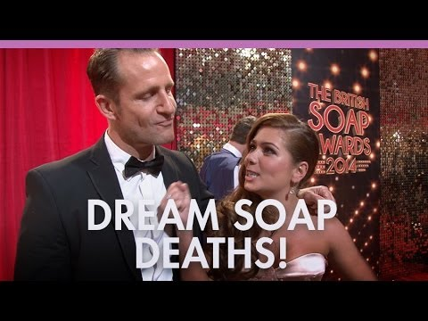 Soap stars kill off their characters!