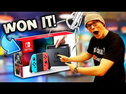 WINNING A NINTENDO SWITCH AT THE ARCADE! (CLOSED)