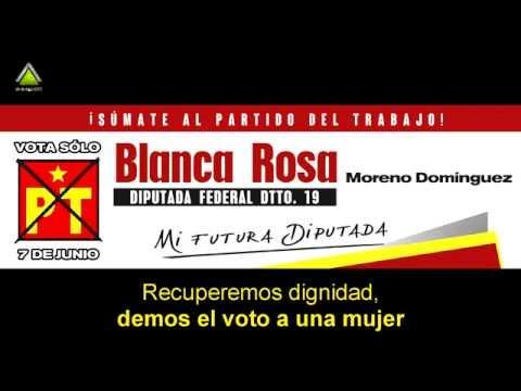 Canción de campaña - Blanca Rosa PT - Jingle político