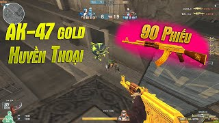 AK47-Gold 1 Thời Đại Gia Mới Sở Hữu Được Bắn Zombie Nano!