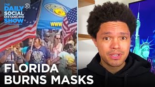Anti-COVID Floridians Burn Masks & Michigan Needs More Vaccine | The Daily Social Distancing Show