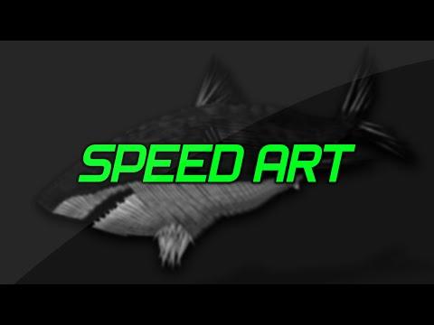 Shark Speed Art