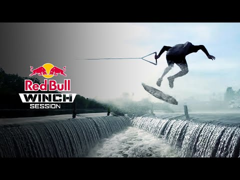 Wakeskating Ledges And Uphill Kickers | Red Bull Winch Sessions