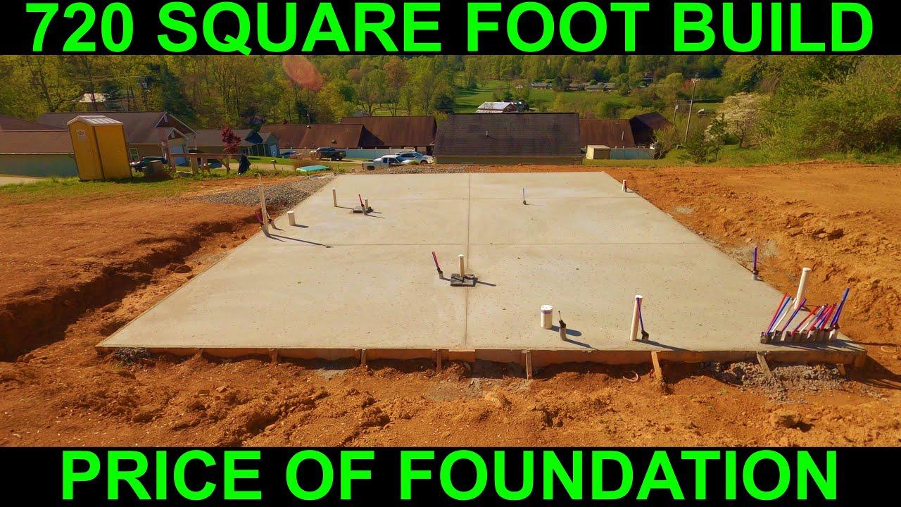 Small House Concrete Slab Foundation
