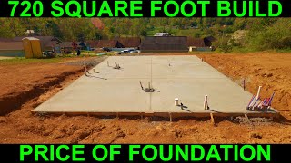 Cost Of Small House Concrete Slab Foundation 720 Square Feet MP3