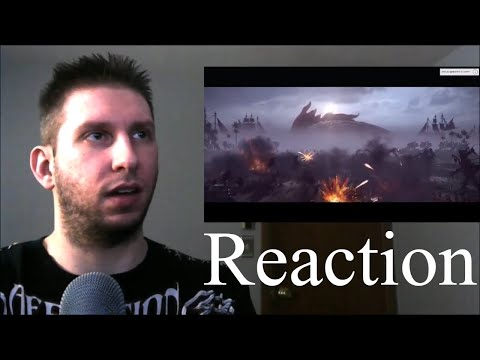Total War: WARHAMMER 2 - Curse of the Vampire Coast Trailer Reaction / Breakdown