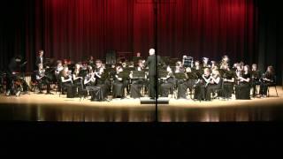 Sussex Mummers Christmas Carol - 2010 GMEA District V High School Honor Wind Ensemble