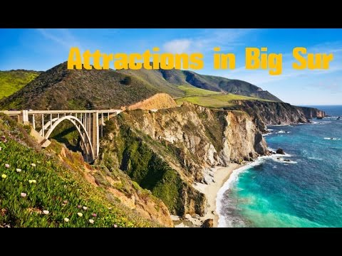 Top 10. Best Tourist Attractions in Big Sur -Travel Californ