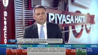 A101 CEO'su Erhan Bostan Piyasa Hattı'nda