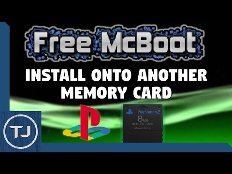 PS2 Install Free McBoot Onto Another Memory Card! (NO MOD CHIP) (2017!)