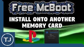 PS2 Transfer Free McBoot Onto Another Memory Card! (NO MOD CHIP) (2017!)