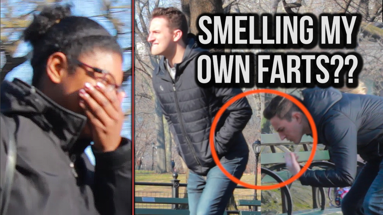 Smelling My Owns In Public Pooter Prank