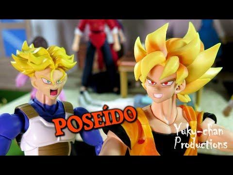 """(voces) ★ """"GOTEN POSEÍDO VS TRUNKS"""" - (PARTE 11) - LA NUEVA GENERACIÓN - Stopmotion figuras"""
