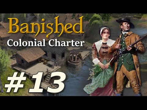 Banished: Colonial Charter (v1.71) - New Cardiff (Part 13)