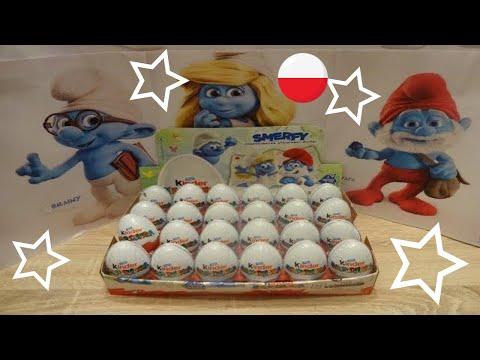SMURFS: THE LOST VILLAGE 24 Kinder Surprise Eggs Unboxing Video 2017