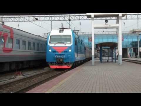 Срыв стоп-крана при отправлении поезда