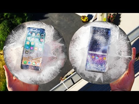 Thumbnail: iPhone 8 vs Note 8 Freeze and Drop Test! Which Will Survive??
