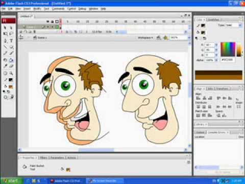 tutorial 2d 3d depth on flash cartoon animation