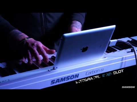 Samson Carbon 61 USB MIDI Controller product overview