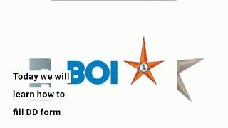 Form Hindistan'ın Banka DD doldurmak için nasıl