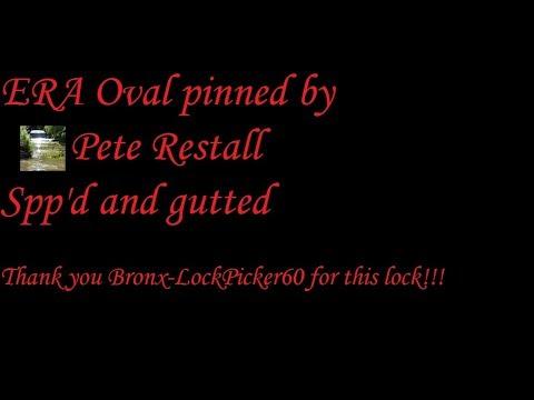 Взлом отмычками ERA   (450) ERA Oval (pinned by Pete Restall) Spp