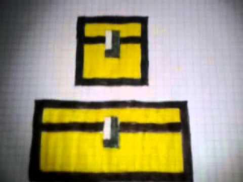 Como Dibujar Los Cofres De Minecraft Mas Info