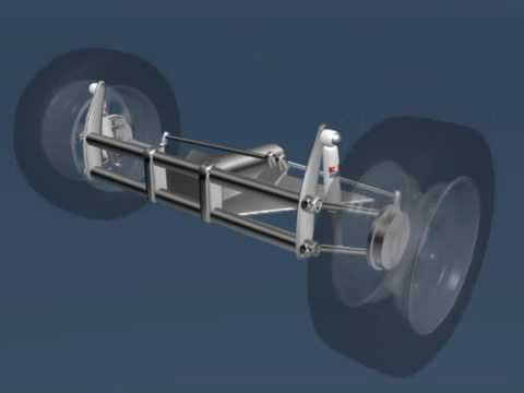 VW Buggy Suspension animation