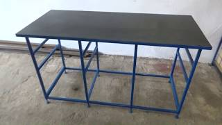 Building a table for workshop, part 1 (welding table)