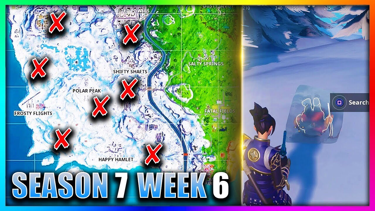 Fortnite Gnome Locations Where To Search For Chilly Gnomes