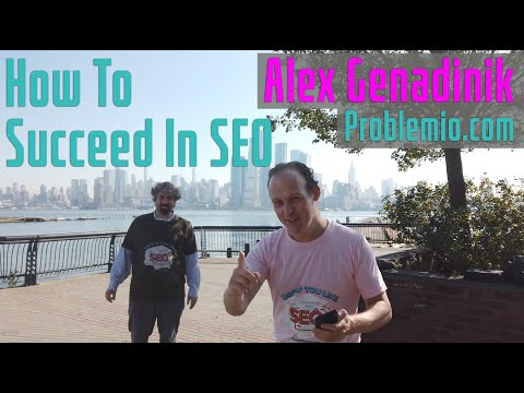 Alex Genadinik On Why Focusing On Niches For SEO Is Important - Vlog #110 - YouTube