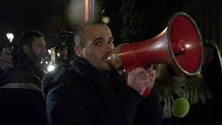 Gyros bleus Acte 1 : Les policiers en colère sur les Champs-Elysées (20 décembre 2018, Paris) [4K]
