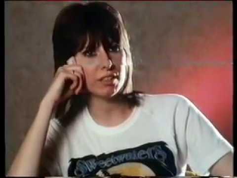 Chrissie Hynde - rare 1984 NZ interview!