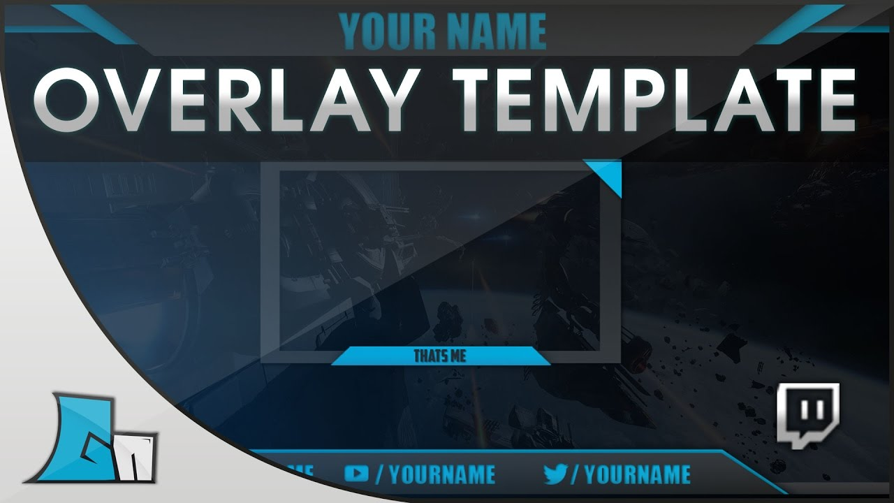 photoshop stream overlay template all colors free download
