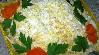 Салат Мельник  Рецепт салат