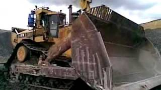 Caterpillar D11R Carry Dozer at Coal Mine coulple days after drop off