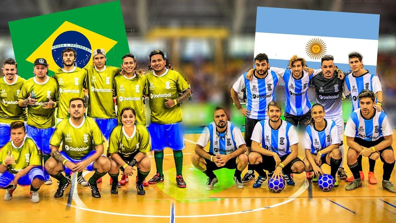 BRASIL vs ARGENTINA | PARTIDO CANCHA de 5 en la COPA AMERICA 2019