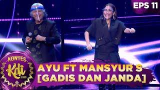 GOYANG BARENG! Mansyur S ft Ayu Ting Ting [GADIS DAN JANDA] - KONTES KDI 2020
