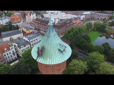 Cuxhaven, Germany   Stunning Drone Video