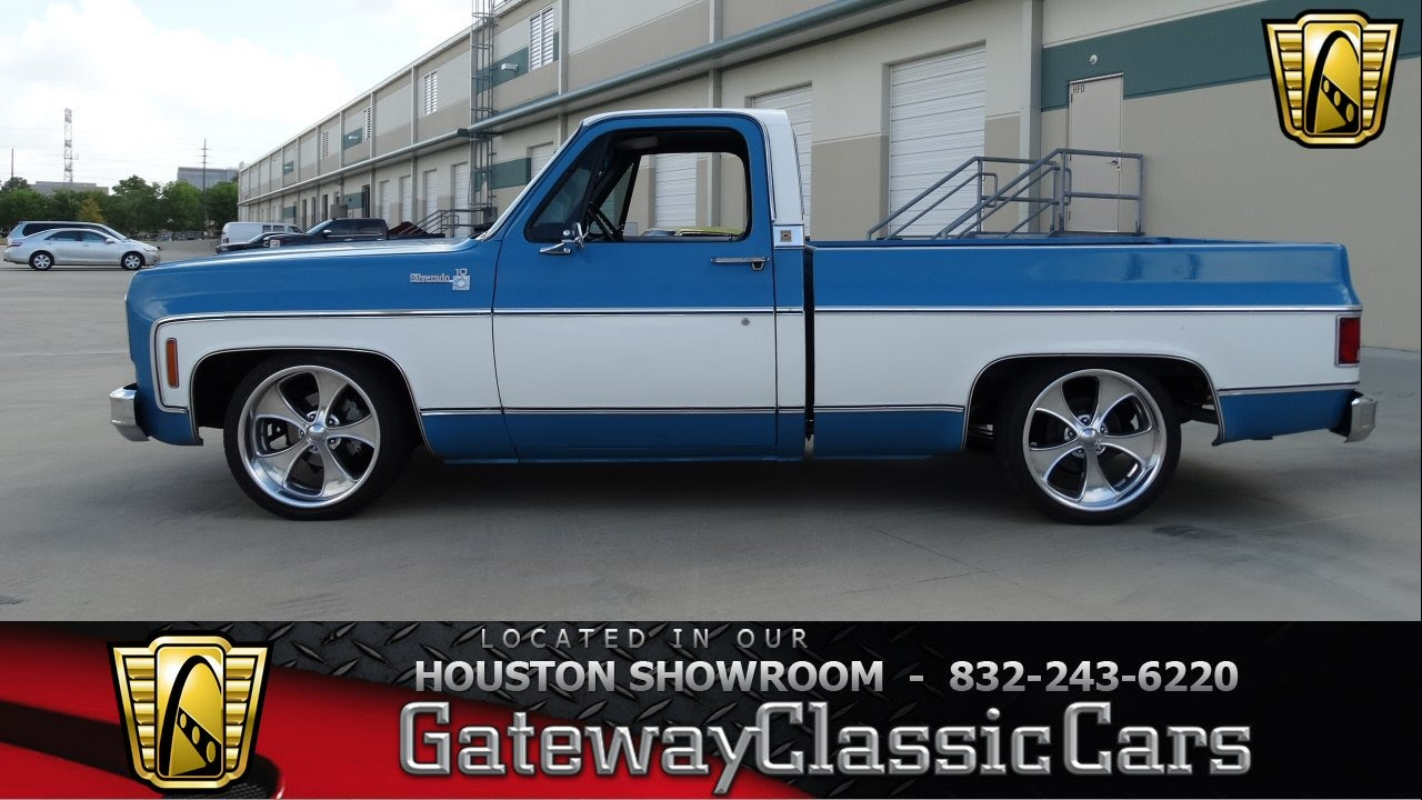 1978 Chevrolet C10 Gateway Classic Cars Of Houston Stock 431 Hou