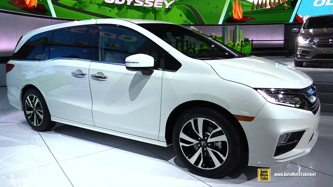 2018 Honda Odyssey Elite Exterior And Interior Walkaround Debut At 2017 Detroit Auto Show You