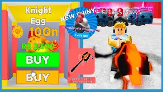 I Bought The New Knight Egg & Best Rebirth Magnet In Roblox Magnet Simulator