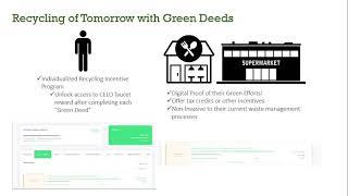 Celo Make It Mobile Hackathon Submission: Green Deeds